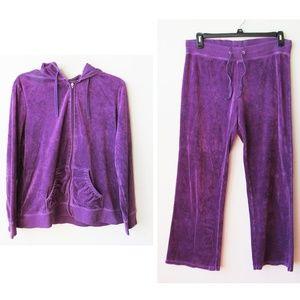 Fashion Bug Tracksuit 2 Set Jacket Jogger Pants